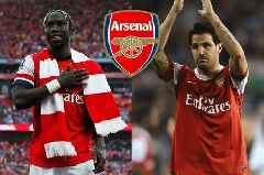 Sagna hits out at Fabregas for Van Persie and Nasri comments