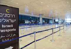 Only three international airlines still operating at Ben-Gurion Airport