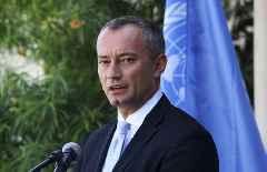 UN envoy regrets lack of progress in Mideast peace process