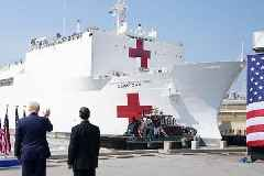 USNS Comfort: Hospital Ship of Hope Arrives in New York Amidst COVID-19 Pandemic