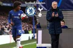 Chelsea star Willian details Mourinho relationship amid Tottenham transfer links