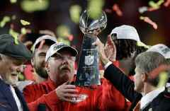 Andy Reid plotting Chiefs' Super Bowl defense from his basement