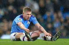 Kevin De Bruyne expresses injury fears when football returns after coronavirus