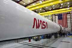 NASA brings back its iconic 'worm' logo for upcoming Falcon 9 Crew Dragon launch