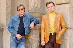 How Quentin Tarantino got Brad Pitt to pop the shirt