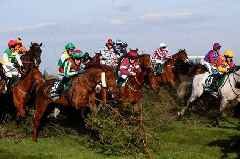 Virtual Grand National winner, placings and all the results