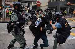 Police Scotland slammed for training 'brutal' Hong Kong regime cops