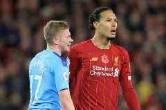 Virgil van Dijk has three Man City stars in top Premier League 5-a-side team