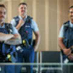Hawke's Bay cops shave 'slugs not hugs' moustaches in solidarity with new boss