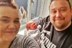 Staffordshire mum gives birth in passenger seat of husband's car