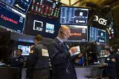 Wall Street soars 7 per cent on hopes of slowing coronavirus deaths