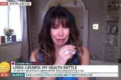 Linda Lusardi breaks down on GMB after Covid-19 took her to 'death's door'