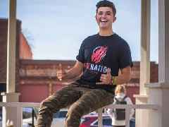 YouTube millionaire Preston Arsement has launched new channels and adapted his business, as ad rates fall but merch sales and views surge