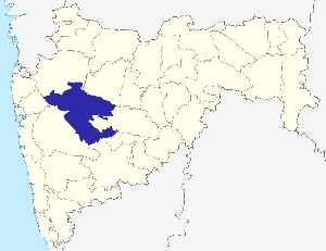 Ahmednagar district: District of Maharashtra in India