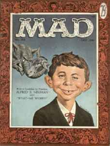Alfred E. Neuman: The mascot for Mad magazine