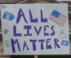 All Lives Matter: American slogan critical of the Black Lives Matter movement
