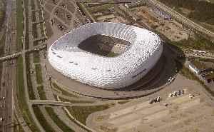Allianz Arena: Football stadium in the north of Munich, Bavaria, Germany