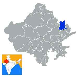 Alwar district: District of Rajasthan in India