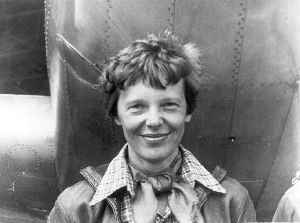 Amelia Earhart: American aviation pioneer and author