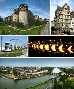 Angers: Prefecture and commune in Pays de la Loire, France
