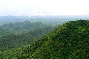 Aravalli Range: Mountain range in western India