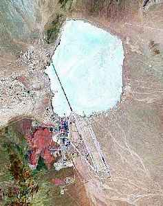 Area 51: Highly classified United States military base in southern Nevada