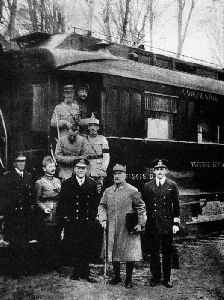 Armistice of 11 November 1918: Armistice during First World War between Allies and Germany
