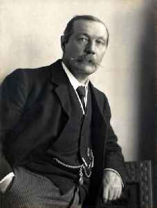 Arthur Conan Doyle: British detective fiction author