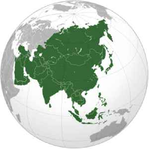 Asia: Earth's largest and most populous continent, located primarily in the Eastern and Northern Hemispheres