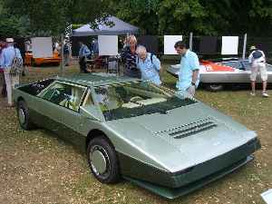 Aston Martin Bulldog: Car model
