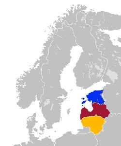Baltic states: Countries east of the Baltic Sea
