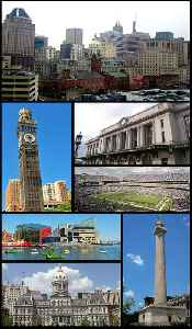 Baltimore: Largest city in Maryland, United States