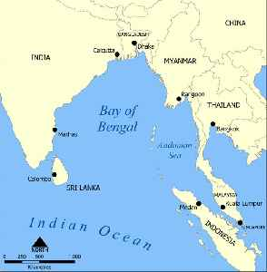 Bay of Bengal: Northeastern part of the Indian Ocean