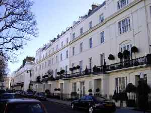 Belgravia: District in central London, England