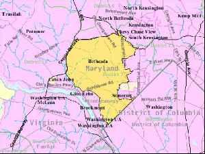Bethesda, Maryland: Census-designated place in Maryland, United States