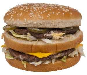 Big Mac: Hamburger sold by McDonald's