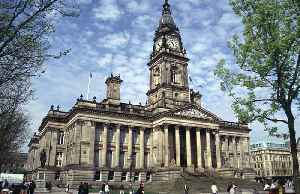 Bolton: Town in Greater Manchester, in the North West of England