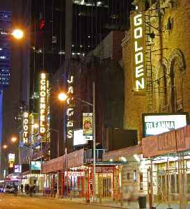 Broadway theatre: Class of professional theater presented in New York City, New York, USA