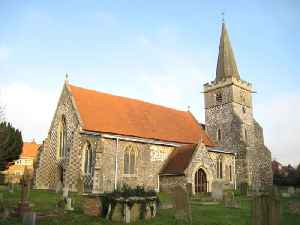 Burnham, Buckinghamshire: Village and civil parish in Buckinghamshire, England