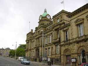Burnley: Market town in Lancashire, England