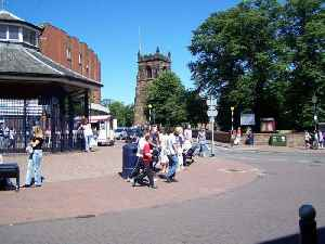Cannock: Town in Staffordshire, England
