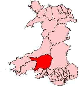 Carmarthen East and Dinefwr (UK Parliament constituency): Parliamentary constituency in the United Kingdom, 1997 onwards