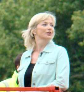 Carol Kirkwood: British weather forecaster