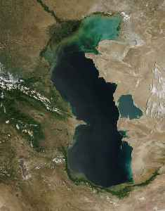 Caspian Sea: Lake in Asia and Europe, largest enclosed inland body of water on Earth