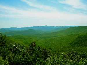 Catskill Mountains: Large area in the southeastern portion of the U.S. state of New York