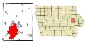 Cedar Rapids, Iowa: City in Iowa, United States