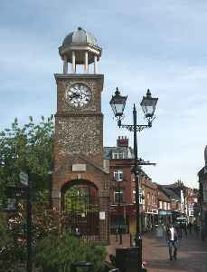 Chesham: Town in Buckinghamshire, England