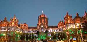 Chhatrapati Shivaji Terminus: Historic terminal train station in Mumbai, India