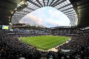 City of Manchester Stadium: Home ground of Manchester City Football Club in England
