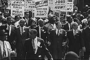 Civil rights movement: Social movement against institutionalized racism in the United States during the 20th century